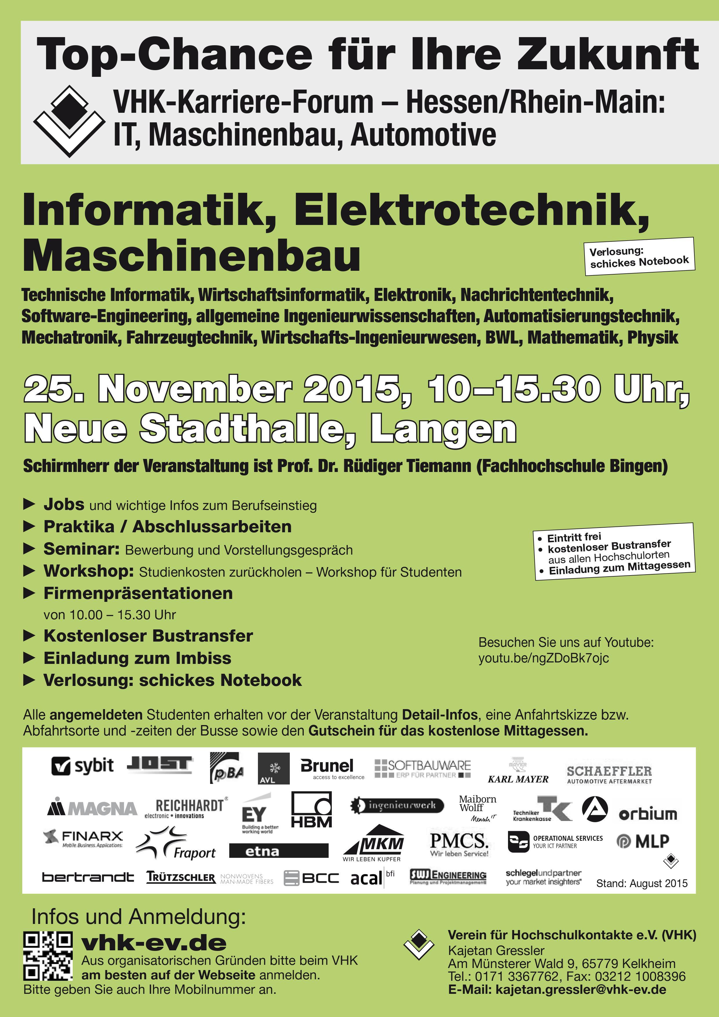 Plakat VHK Langen