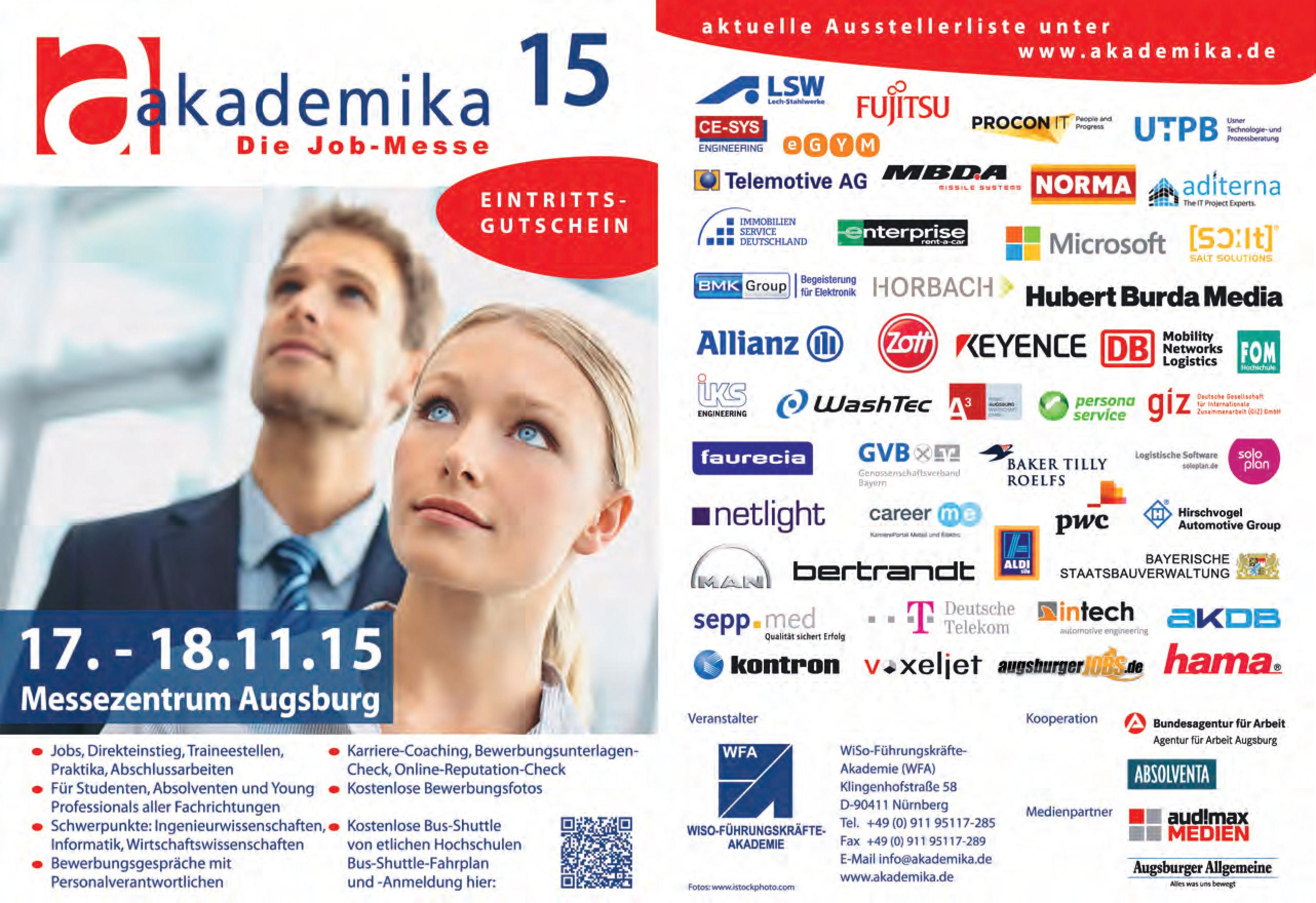 Messe Augsburg Flyer