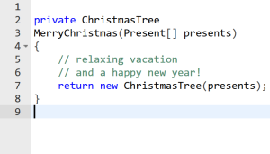 ChristmasTree.java