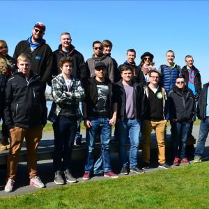 Gruppe der Amsterdam TeamDyn.